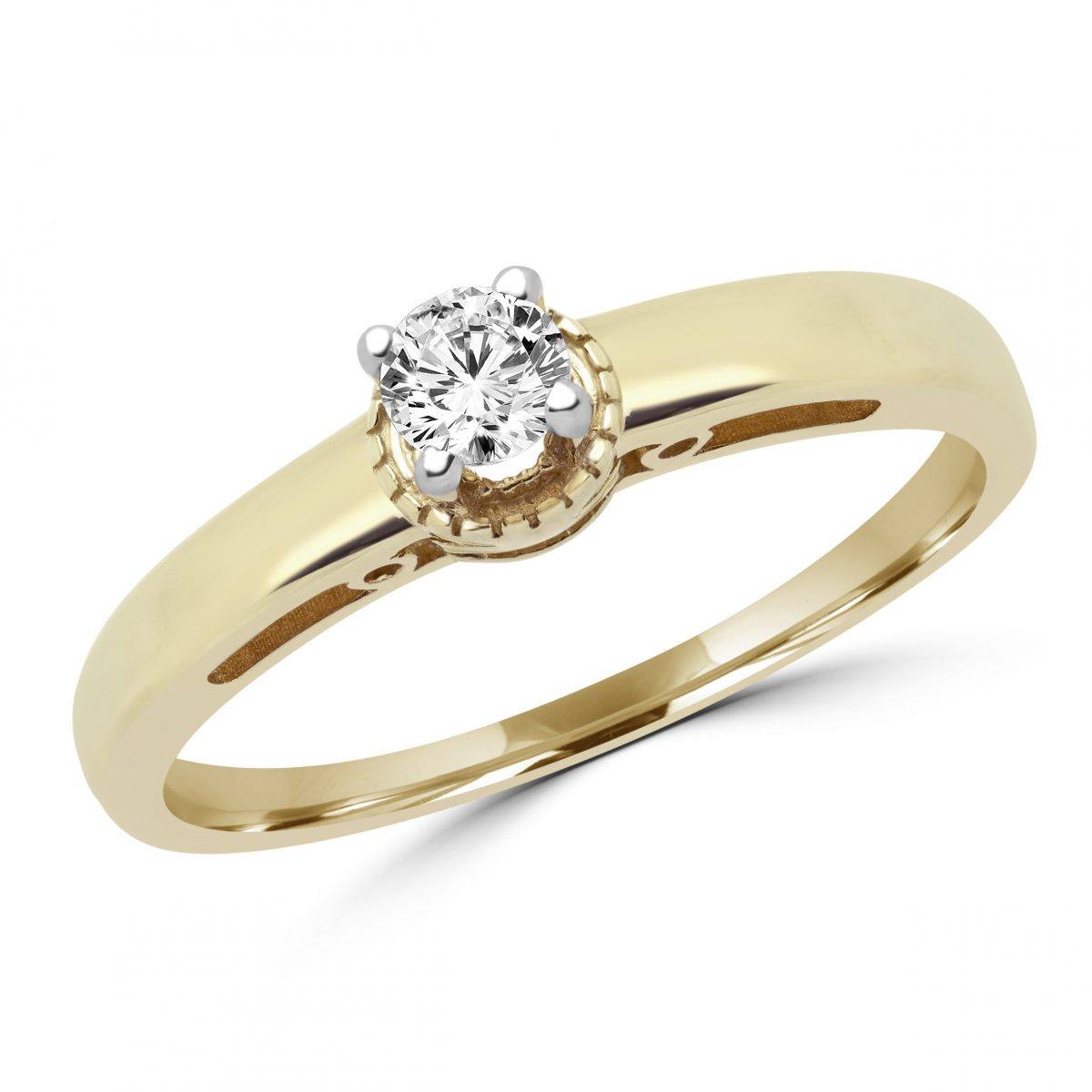 regular alternate ring white diamond with band solitaire gold matching jewellery in wgrg engagement round halfway