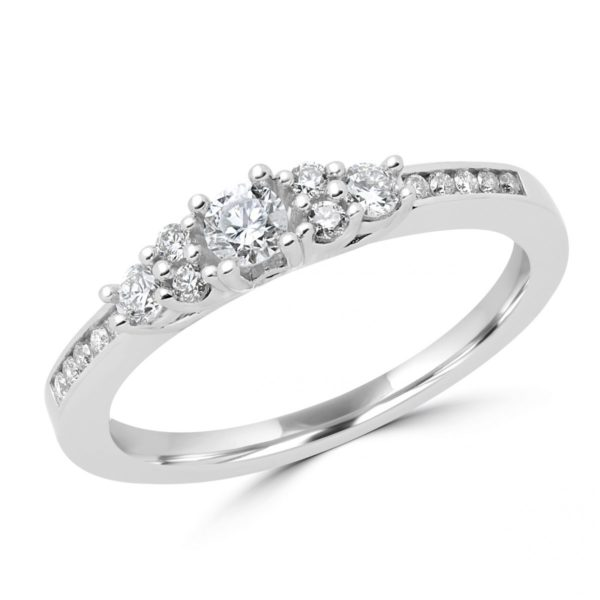 Charming engagement anniversary ring 0.42 (ctw) in 14k Gold