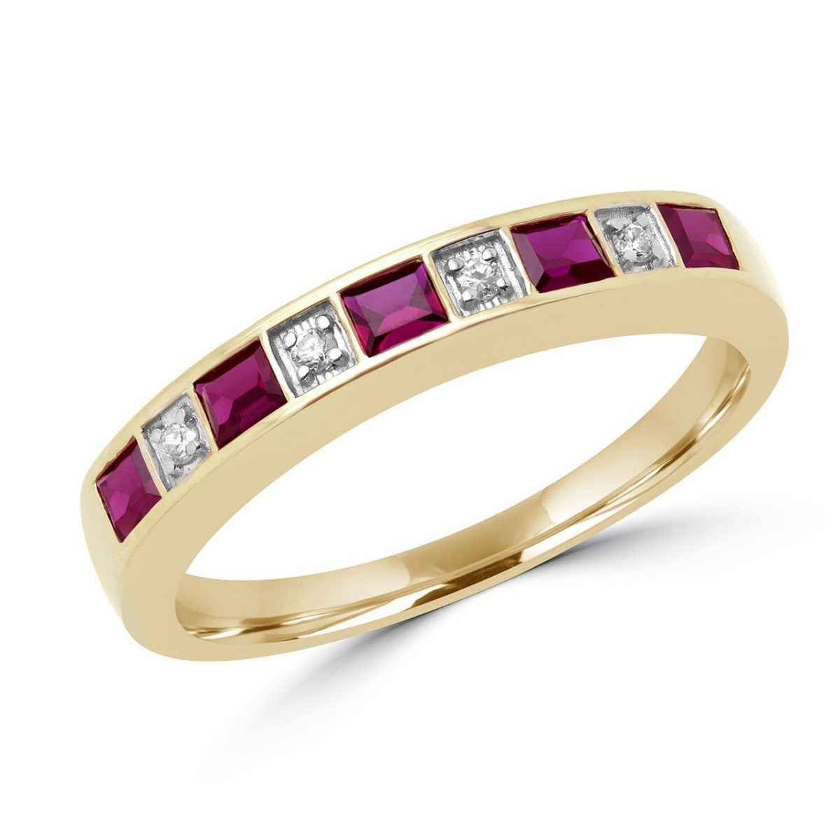 0-64-carat-ctw-ruby-and-diamond-wedding-band-anniversary-ring-in-10k-yellow-gold