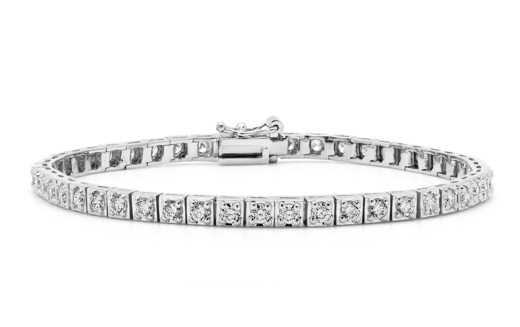 bracelet tennis s stainless luxury diamond layered stacked v products x double ge