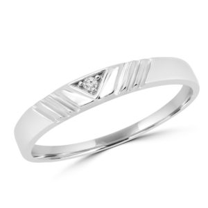 0.02 ct round diamond promise ring 10k white gold