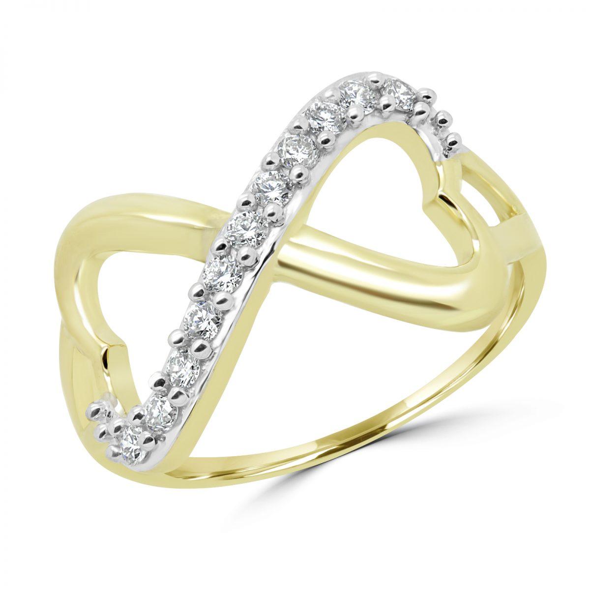 bague diamant infini