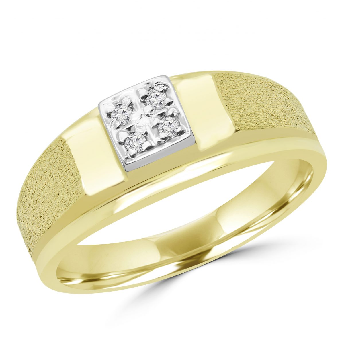 ring and matching set his antler gold hers moissanite rings deer titanium white products wedding bands