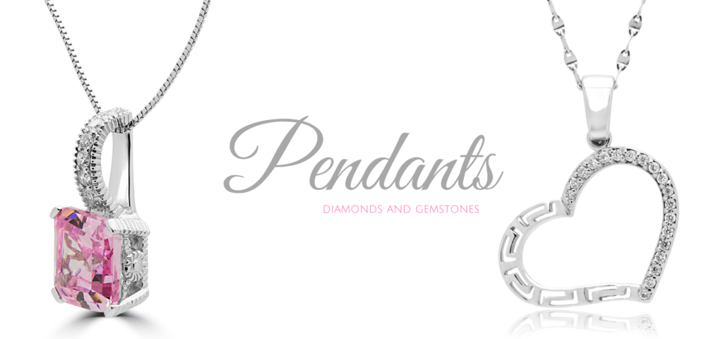 PENDANTS DIAMONDS AND GEMSTONES