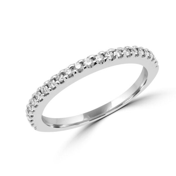 Semi-eternity Timeless anniversary diamond ring