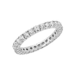 Dazzling classic diamond eternity ring