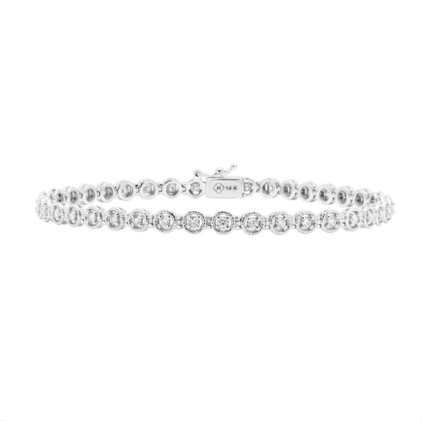 Chic Diamond Tennis bracelet