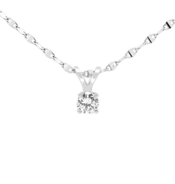 Sparkly diamond pendant