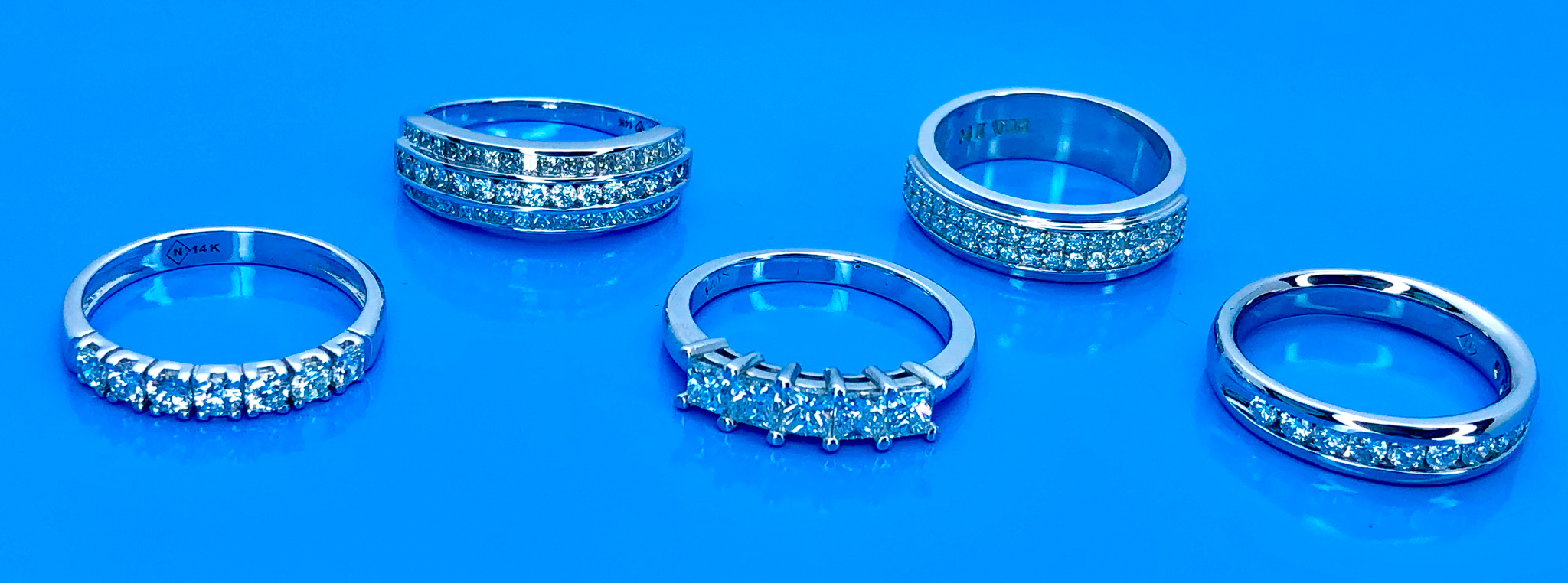 semi eternity rings by global diamond montreal