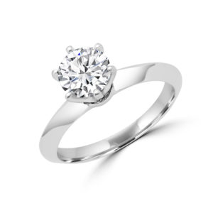 In Love solitaire engagement ring 1.02 (ctw) in 14k gold