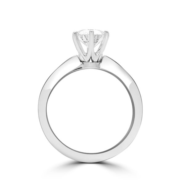 In Love solitaire engagement ring 1.01 (ctw) in 14k gold