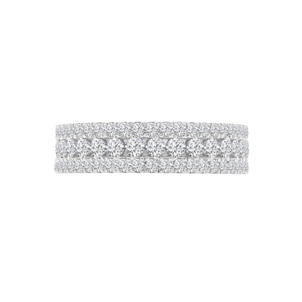 Semi-eternity affection ring 0.40 (ctw) in 14k gold