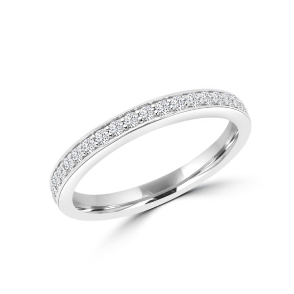 Semi-eternity affection ring 0.30 (ctw) in 14k gold