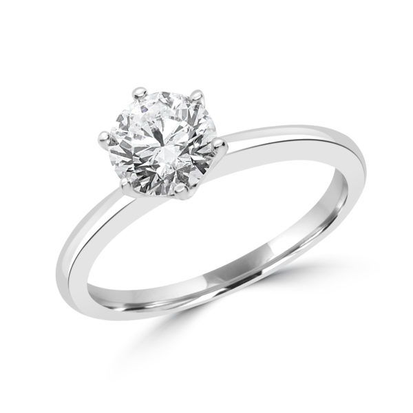 Mesmerizing solitaire engagement ring 1.20 (ctw) in 14k gold 1001-0119