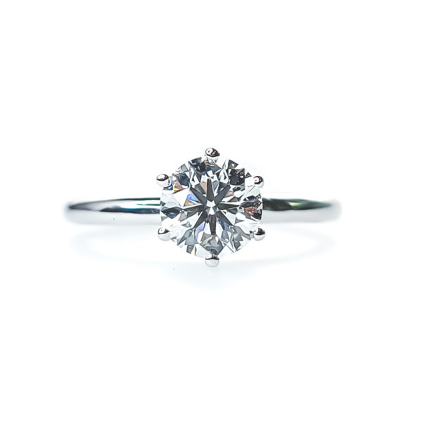 Mesmerizing solitaire engagement ring 1.20 (ctw)14k gold
