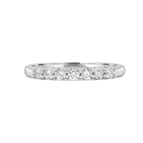 Charismatic semi-eternity ring 0.35 (ctw) in 14k gold
